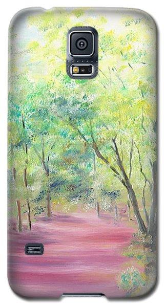 In The Park Galaxy S5 Case by Elizabeth Lock