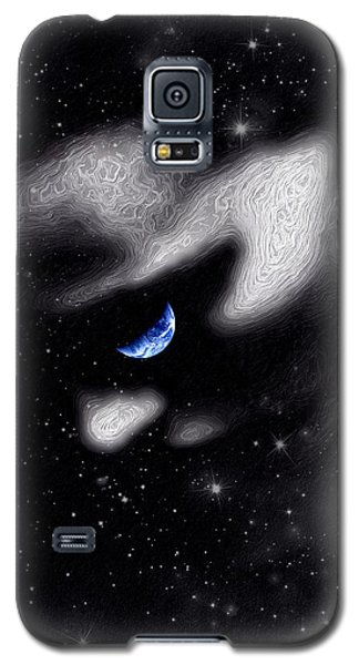 Galaxy S5 Case featuring the digital art In The Quiet Of Your Mind by ISAW Company