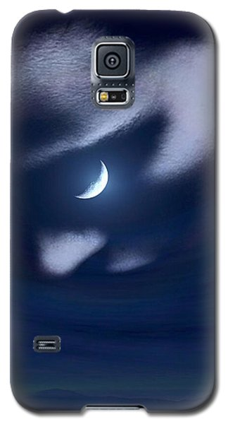 In The Quiet Of Your Mind Blue Galaxy S5 Case by ISAW Gallery