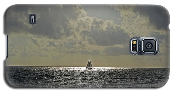 In The Spotlight. Sailboat Sailing In Naples Fl Galaxy S5 Case