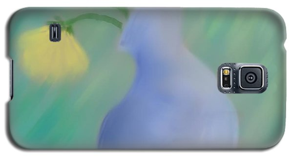 Galaxy S5 Case featuring the painting In The Still Of The Light by Kevin Caudill