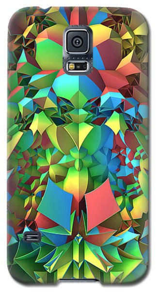 Galaxy S5 Case featuring the digital art In The Tropics by Lyle Hatch