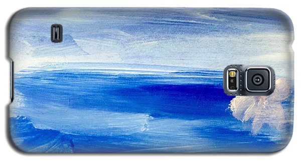 Galaxy S5 Case featuring the painting In This Sea Of Life by Trilby Cole