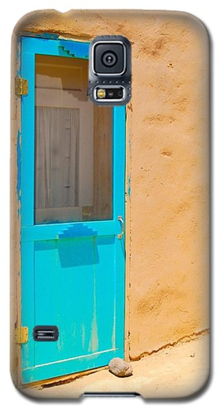 In Through The Blue Door Galaxy S5 Case