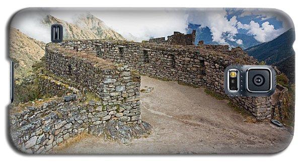 Inca Ruins In Clouds Galaxy S5 Case