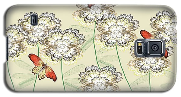 Incendia Flower Garden Galaxy S5 Case by Rosalie Scanlon