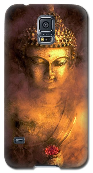 Galaxy S5 Case featuring the photograph Incense Buddha by Daniel Hagerman