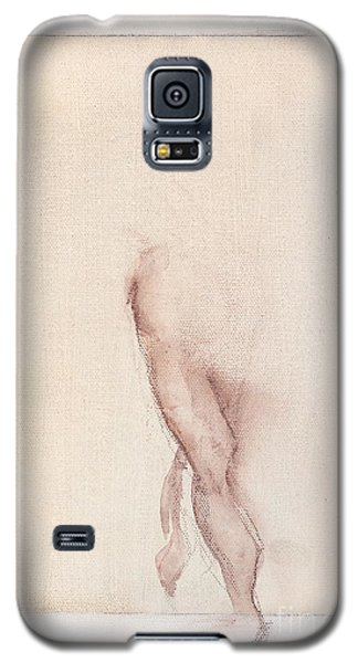 Galaxy S5 Case featuring the painting Incognito - Female Nude by Carolyn Weltman