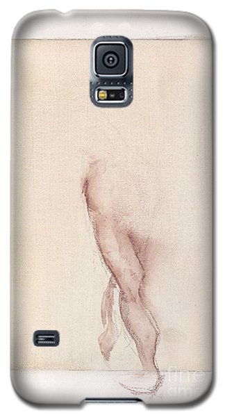 Incognito - Female Nude Galaxy S5 Case by Carolyn Weltman