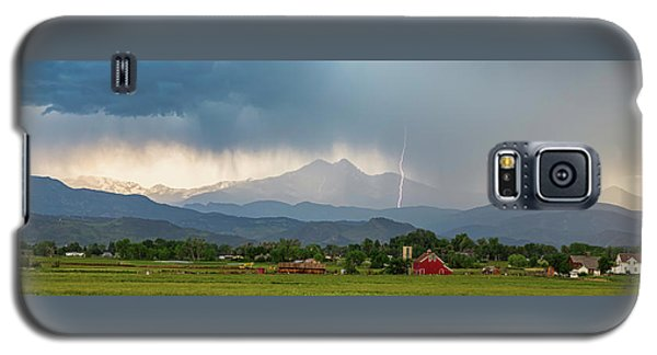 Galaxy S5 Case featuring the photograph Incoming Storm Panorama View by James BO Insogna