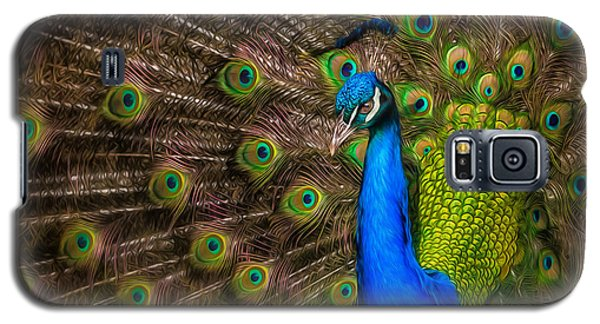 Galaxy S5 Case featuring the photograph India Blue by Rikk Flohr