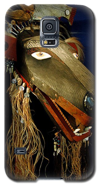 Indian Animal Mask Galaxy S5 Case by LeeAnn McLaneGoetz McLaneGoetzStudioLLCcom