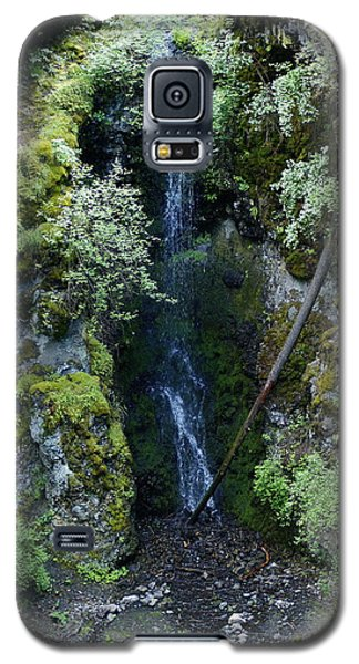 Galaxy S5 Case featuring the photograph Indian Canyon Waterfall by Ben Upham III
