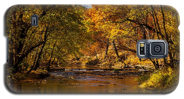 Indian Creek In Fall Color Galaxy S5 Case