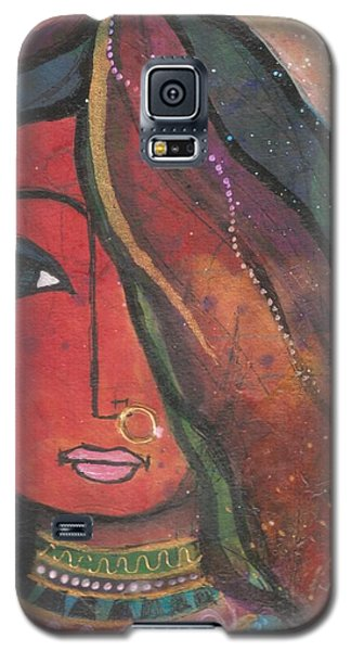 Indian Girl With Nose Ring Galaxy S5 Case