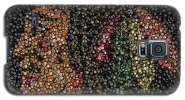 Indian Hockey Puck Mosaic Galaxy S5 Case