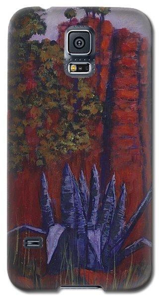 Indian Lodge Courtyard Fort Davis, Tx Galaxy S5 Case