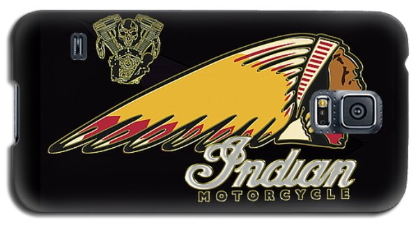 Indian Motorcycle Logo Series 2 Galaxy S5 Case