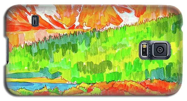 Indian Peaks Wilderness Galaxy S5 Case