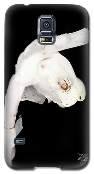 Galaxy S5 Case featuring the photograph Indian Pipe Head by Meta Gatschenberger