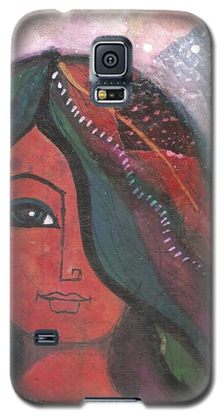 Indian Rajasthani Woman Galaxy S5 Case