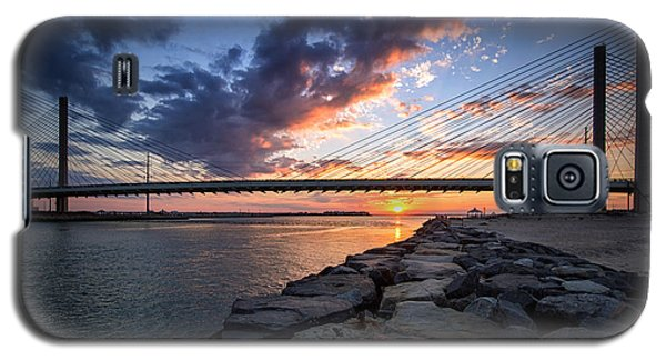 Indian River Inlet And Bay Sunset Galaxy S5 Case