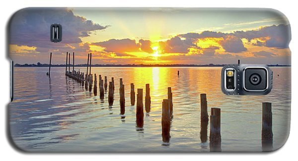 Indian River Sunrise Galaxy S5 Case