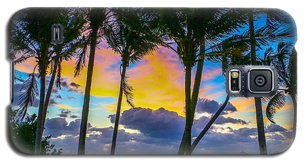 Indian River Sunrise Galaxy S5 Case