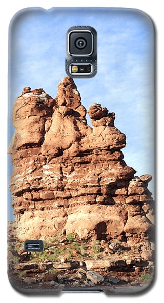 Indian Spirit Rock Galaxy S5 Case by Daniel Hebard