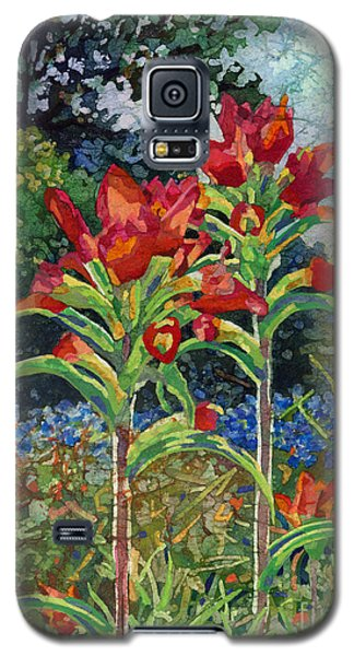 Galaxy S5 Case featuring the painting Indian Spring by Hailey E Herrera