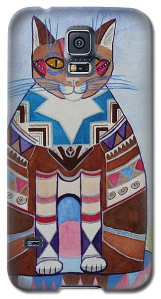 Indian Squirrel Cat Galaxy S5 Case