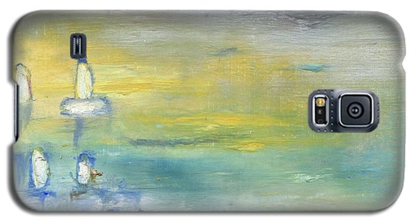 Indian Summer Over The Pond Galaxy S5 Case by Michal Mitak Mahgerefteh