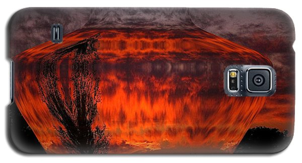 Galaxy S5 Case featuring the photograph Indian Summer Sunrise by Joyce Dickens