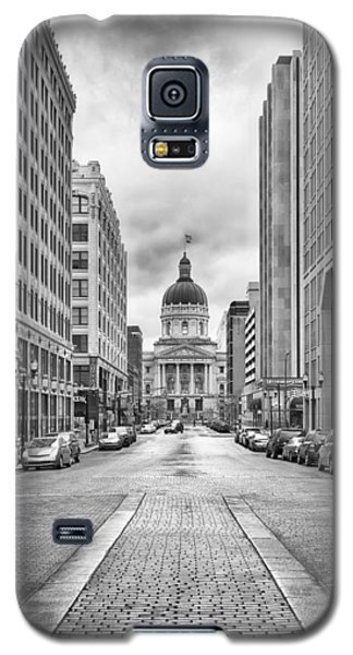 Indiana State Capitol Building Galaxy S5 Case by Howard Salmon