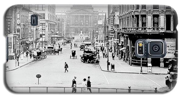 Indianapolis, Indiana, Downtown Area, C. 1915, Vintage Photograp Galaxy S5 Case
