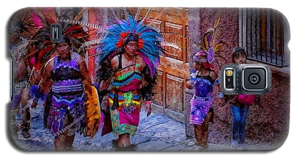 Indians Walking  On Pila Seca Galaxy S5 Case