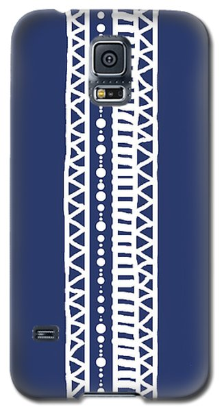 Indigo Batik Tribal Stripe Galaxy S5 Case
