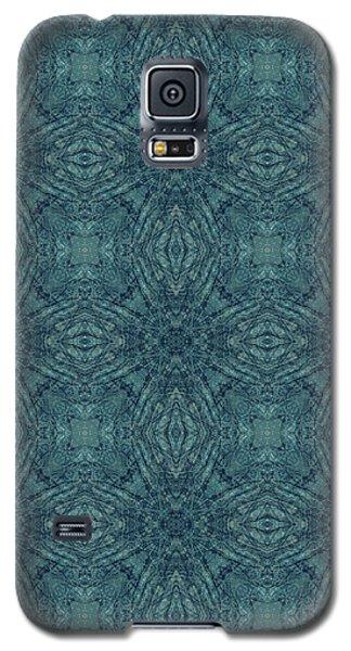 Indigo Diamond Cross Pattern 24in Galaxy S5 Case