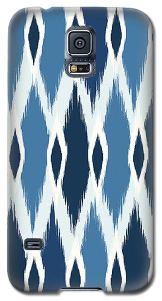 Indigo Ikat Galaxy S5 Case by Arte Flora Design Studio