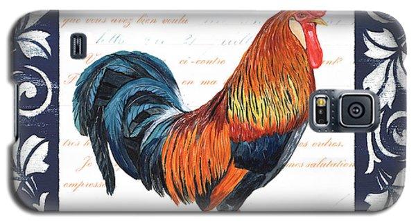 Indigo Rooster 1 Galaxy S5 Case by Debbie DeWitt