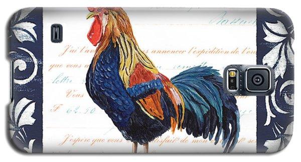 Indigo Rooster 2 Galaxy S5 Case by Debbie DeWitt