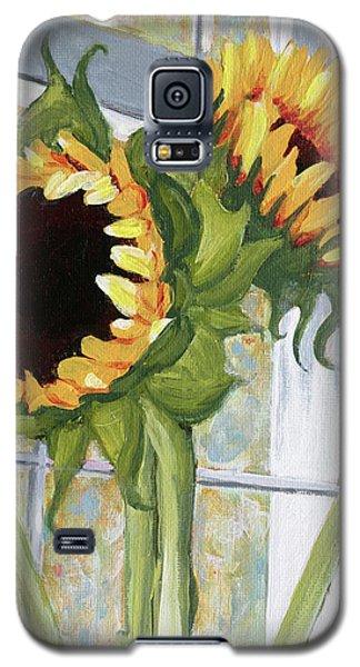 Indoor Sunflowers II Galaxy S5 Case