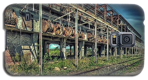 Industrial Archeology Railway Silos - Archeologia Industriale Silos Ferrovia Galaxy S5 Case