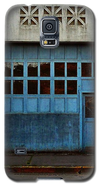 Industrial Blue Galaxy S5 Case by Patricia Strand