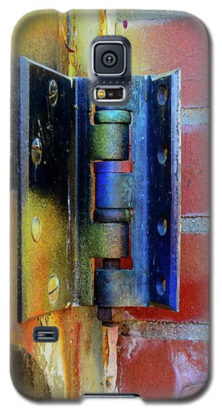 Galaxy S5 Case featuring the photograph Industrial by Corinne Rhode
