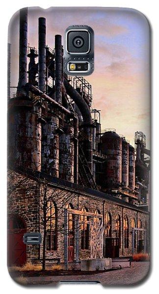 Galaxy S5 Case featuring the photograph Industrial Landmark by DJ Florek
