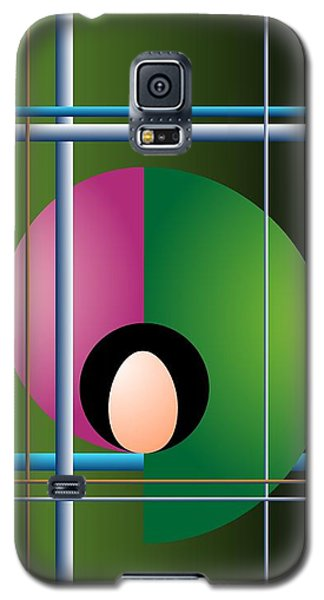 Galaxy S5 Case featuring the digital art Industrial Revolution by Leo Symon