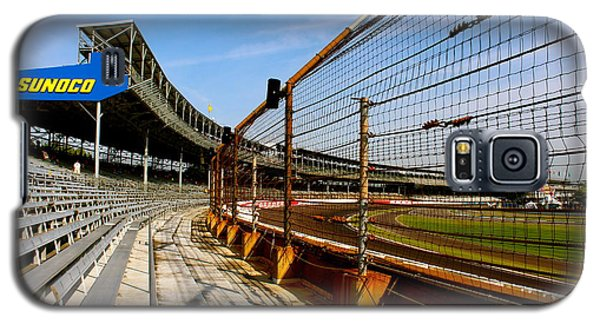 Galaxy S5 Case featuring the photograph Indy  Indianapolis Motor Speedway by Iconic Images Art Gallery David Pucciarelli
