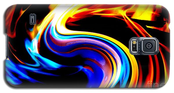 Inferno Abstract I Galaxy S5 Case