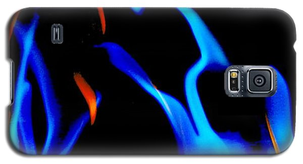 Inferno Abstract Iv Galaxy S5 Case